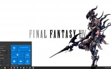 Final Fantasy 14: Heavensward win10 theme