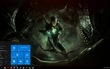Scalebound win10 theme
