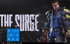 The Surge win10 theme