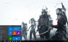 Shadow Tactics: Blades of the Shogun win10 theme