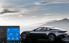 Aston Martin DB11 win10 theme