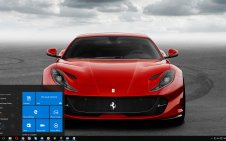 Ferrari 812 Superfast win10 theme