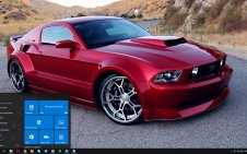 Ford Mustang win10 theme