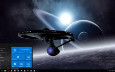 Spaceship win10 theme
