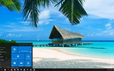 Bahamas win10 theme