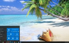 Tropical Paradise win10 theme