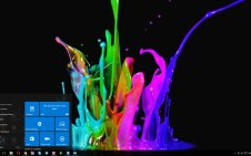3D Visual Effects win10 theme