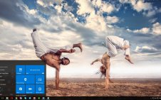 Capoeira win10 theme