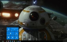 BB-8 win10 theme