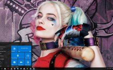 Harley Quinn (Margot Robbie) win10 theme