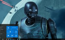 K-2SO win10 theme