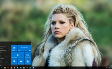 Lagertha Lothbrok win10 theme