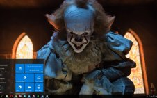 Pennywise win10 theme
