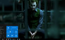 The Joker (Heath Ledger) win10 theme