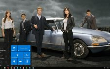 The Mentalist win10 theme