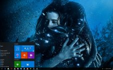 The Shape of Water win10 theme