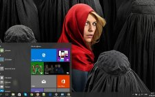 Homeland win10 theme