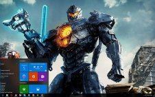 Pacific Rim Uprising win10 theme