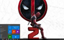 Deadpool 2 win10 theme