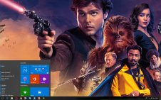 Solo: A Star Wars Story win10 theme