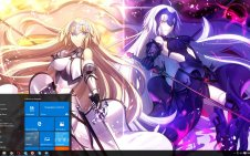 Fate/Grand Order win10 theme