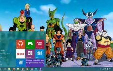 Dragon Ball Z win10 theme