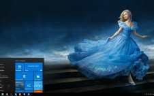 Cinderella win10 theme