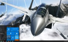 Fighter Jets win10 theme