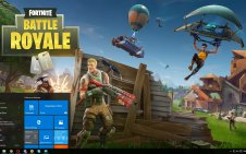 Fortnite Battle Royale win10 theme