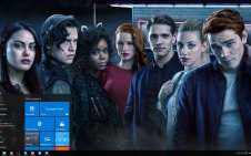 Riverdale win10 theme