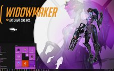 Overwatch Heroes win10 theme