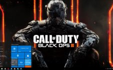 Call of Duty: Black Ops 3 win10 theme