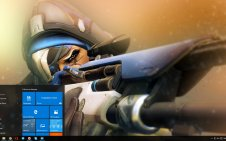 Ana (Overwatch) win10 theme