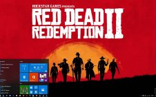 Red Dead Redemption 2 Art win10 theme