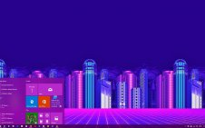 Vaporwave win10 theme
