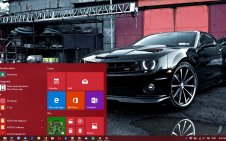 Black Car win10 theme