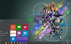Gundam 00 win10 theme