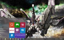 Gundam Seed and Destiny win10 theme