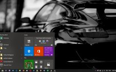 Dark Cars win10 theme