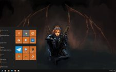 Sarah Kerrigan win10 theme