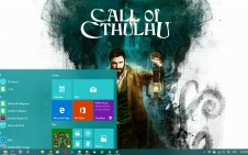 Call of Cthulhu win10 theme