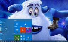 Smallfoot win10 theme