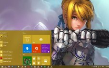 Saber (Fate/stay night) win10 theme