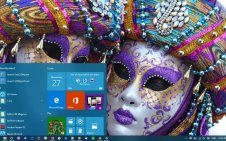 Mardi Gras win10 theme