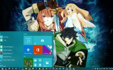 Tate no Yuusha no Nariagari (The Rising of the Shield Hero) win10 theme