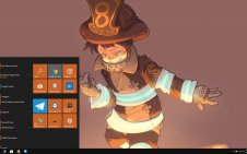 Enen No Shouboutai (Fire Force) win10 theme