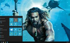 Aquaman (Movie) win10 theme