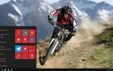 Cycling win10 theme