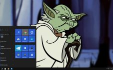 Clone Wars win10 theme
