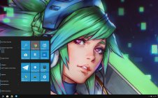 Riven (LOL) win10 theme